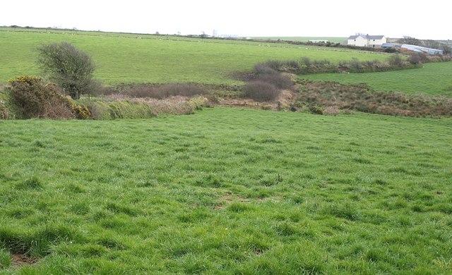 Fields near Carcade
