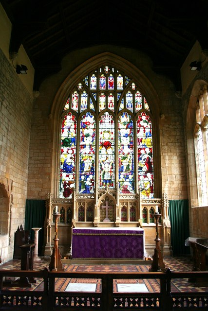 All Saints' chancel