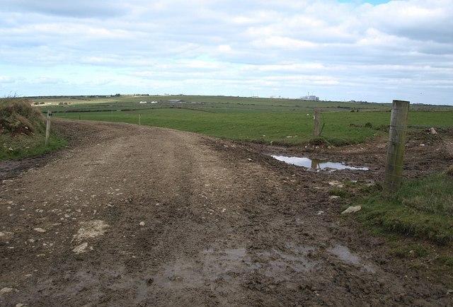 New track near Carcade