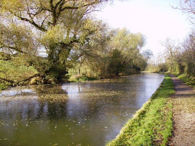 Market Harborough spur of the Grand Union Canal at Foxton