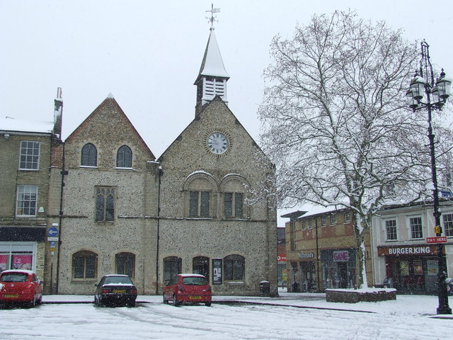 Moyses Hall in the snow