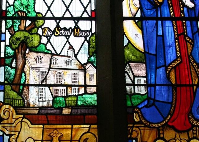 Alfred Hatt Memorial Window detail