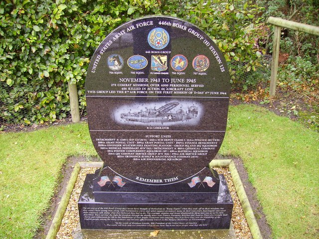 Memorial to the men who flew from Flixton Aerodrome in WW2