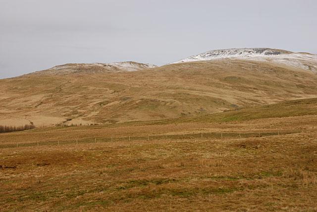 Slopes east of Nant-y-moch reservoir