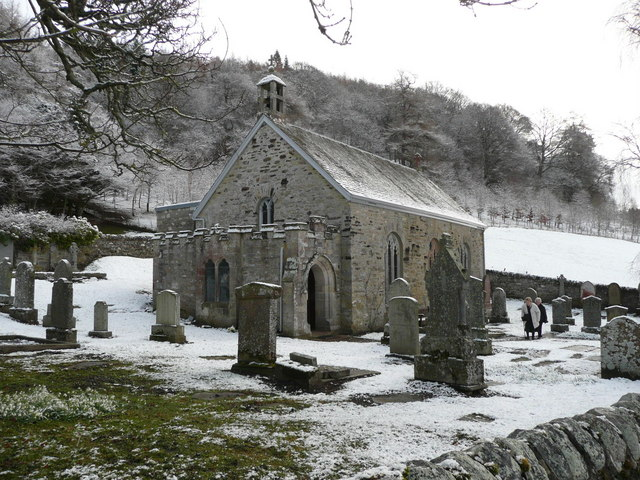St Adamnan's Church, Kilmaveonaig, Easter Sunday 2008
