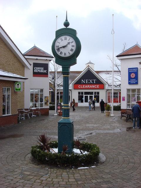 Clock, Freeport Braintree