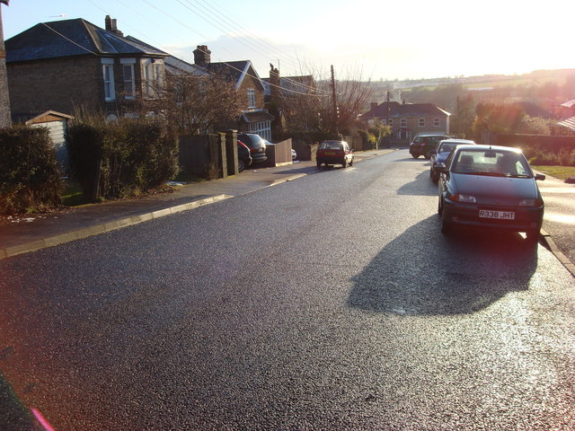 Clarence Road in the sun