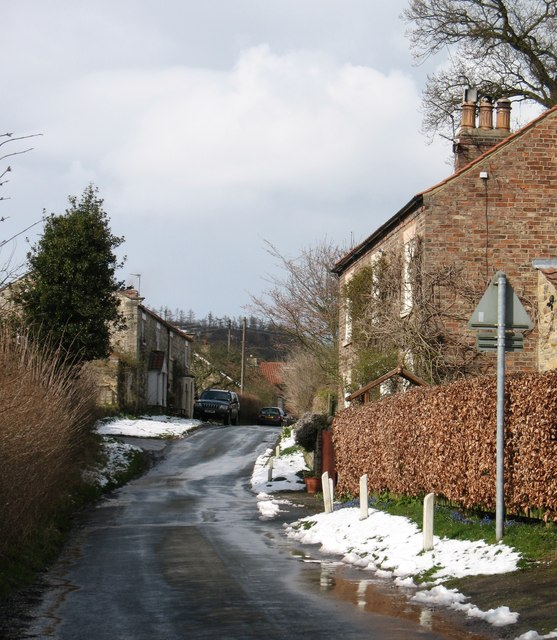 Oldstead village street