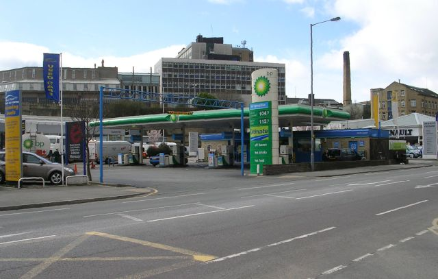 BP Filling Station - Thornton Road