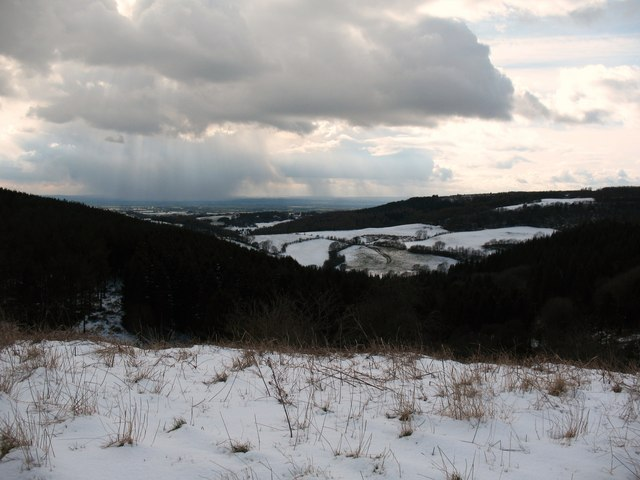 View over Cockerdale