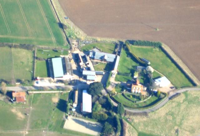 Leewick Farm Aerial View
