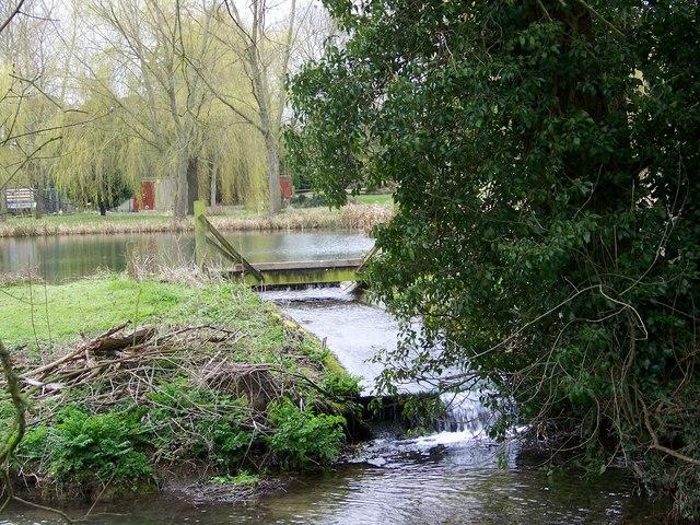 Pond run-off, Bishopstone