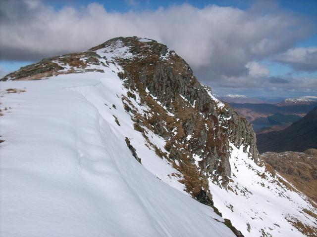 Braigh nan Uamhachan summit