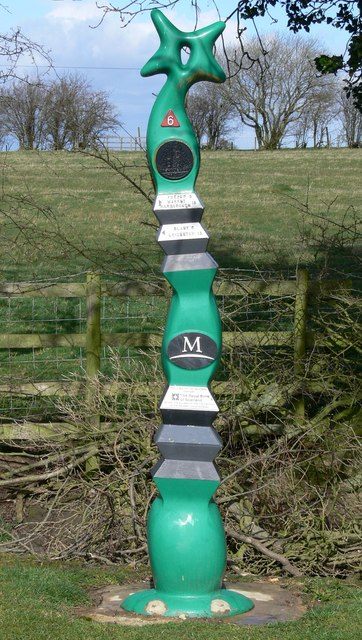 Sustrans National Cycle Network Sign