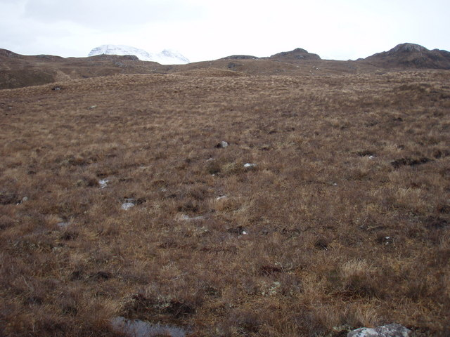 Moorland above Lòn Doire nan Eala