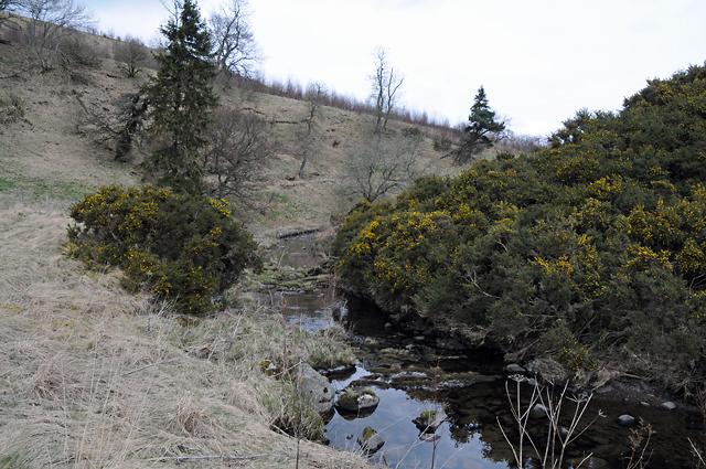 Water of May near Clow Bridge