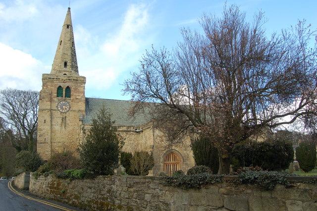 St Lawrence's Church, Warkworth