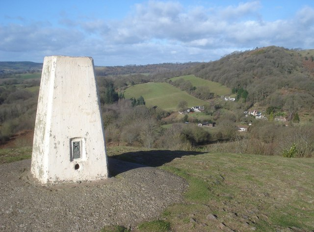 Trig point on Chase End Hill - 2