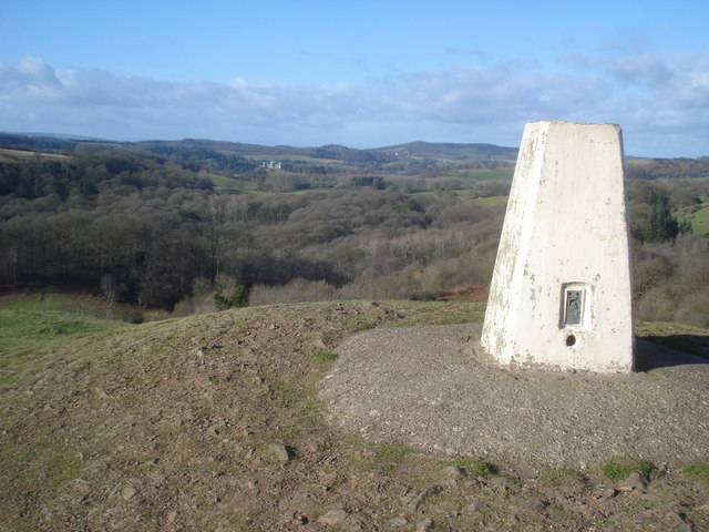 Trig point on Chase End Hill - 3