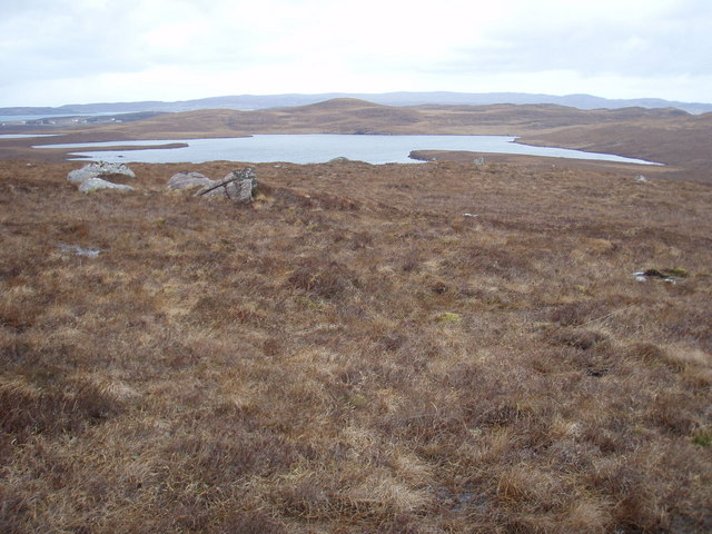 View towards Loch Clàir