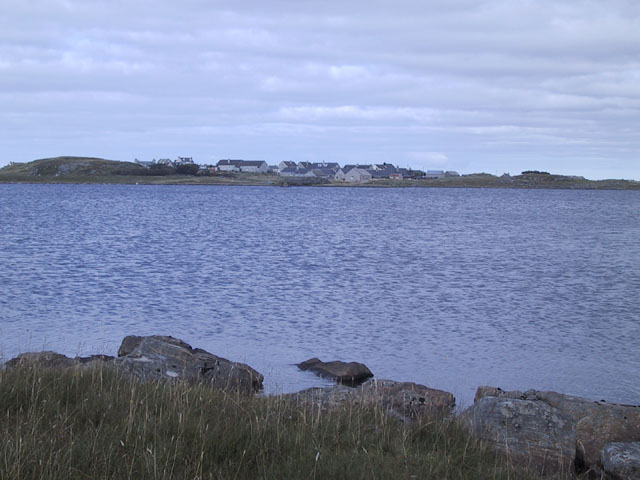 Loch an Duna looking back towards the village