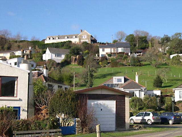Houses on the Hillside