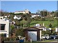 SX1254 : Houses on the Hillside by Tony Atkin