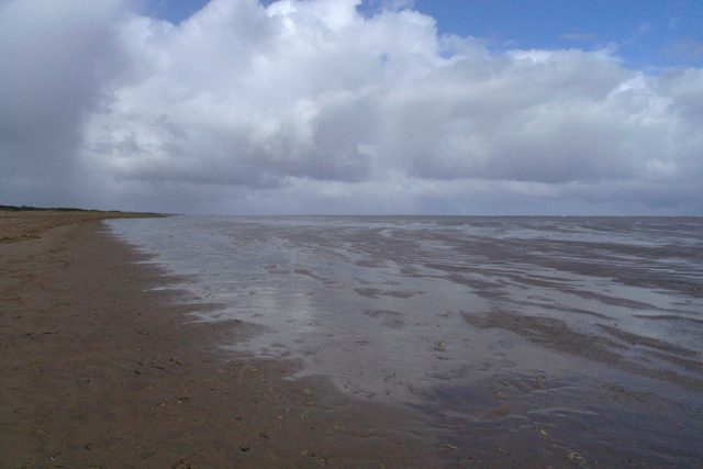The beach at Theddlethorpe