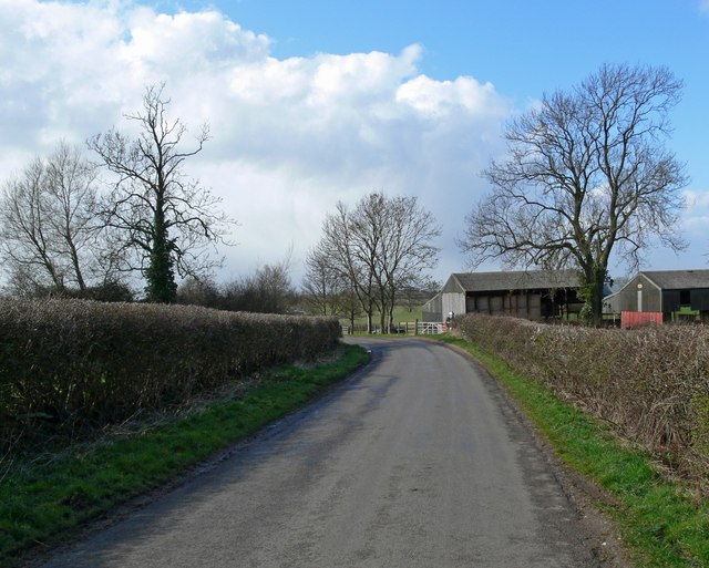 Farm buildings along Fleckney Road