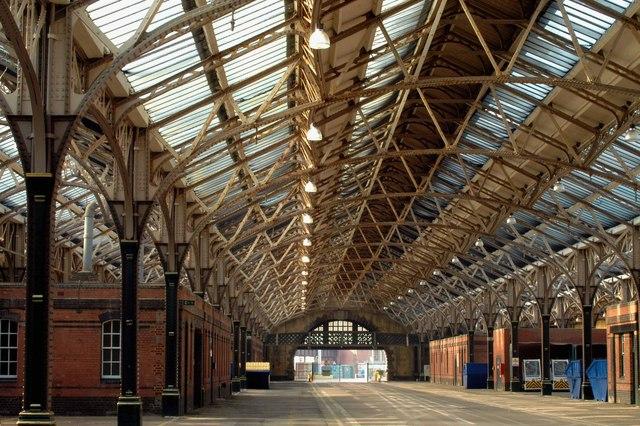 The former Marine Station, Dover