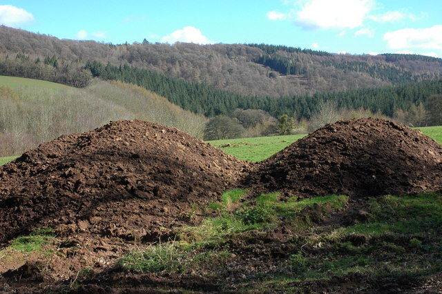 Muck bury in the Wye Valley