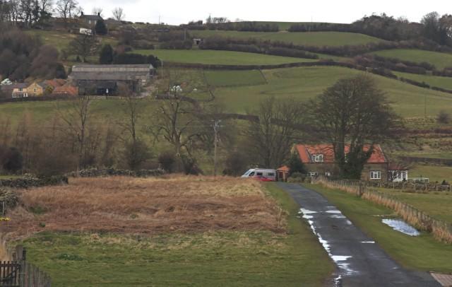 The lane to Rake Farm