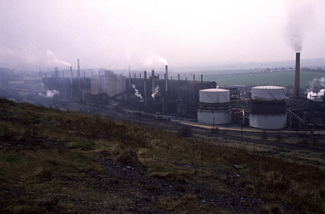 The Coalite Smokeless Fuels plant.