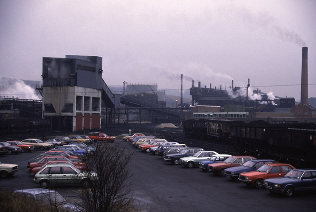 The Coalite Smokeless Fuels plant