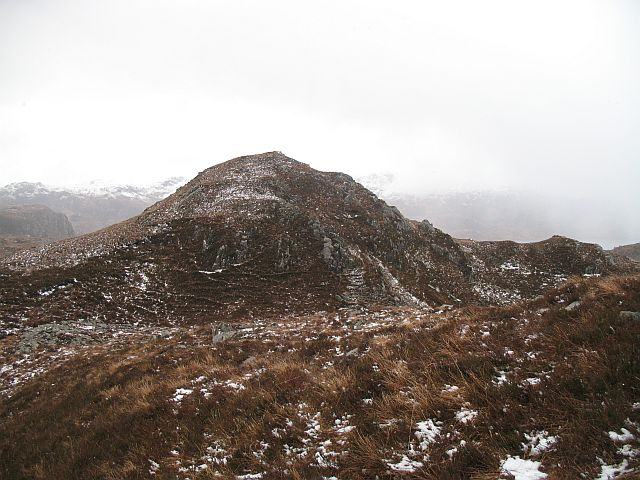 Rocky, knolly landscape, North Morar