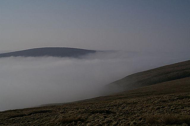 Mist in Burra Firth