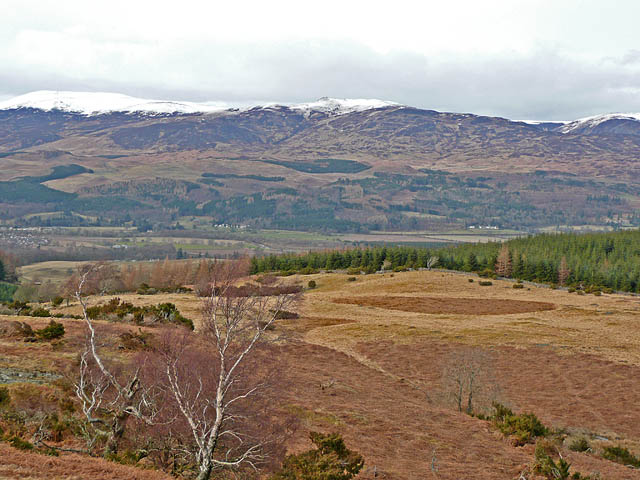 The northern slopes of Beinn Dubh