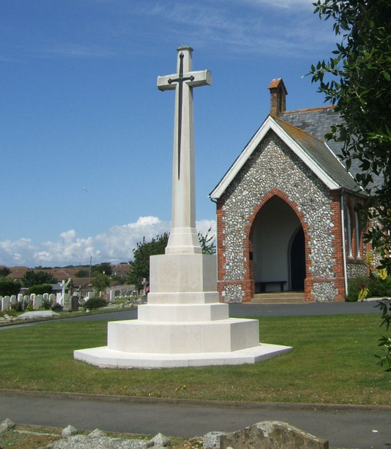 Cross of Sacrifice and Cemetery Chapel, Seaford