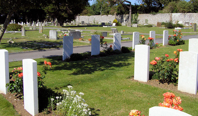 Commonwealth War Graves, Seaford Cemetery