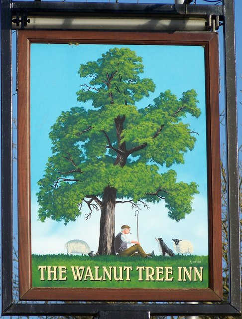 Sign for the Walnut Tree, Mere