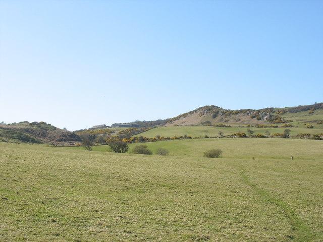 Rock outcrop north-west of Porth  y Gwichiaid