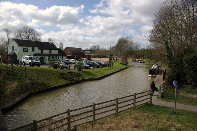 The Grand Union Canal at Stockton
