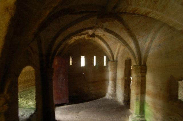 Inside the Hermitage, Warkworth