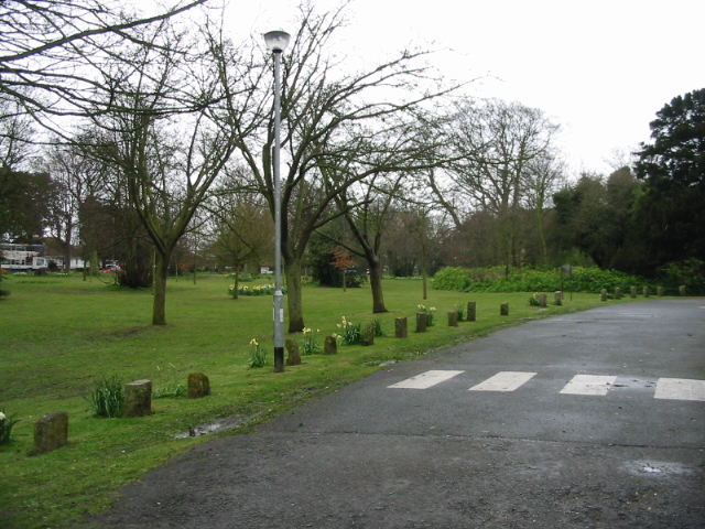 Park to the side of Northdown House