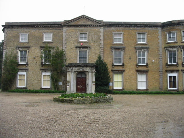The front of Northdown House