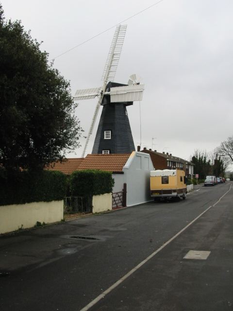 Drapers Mill on St Peter's Footpath