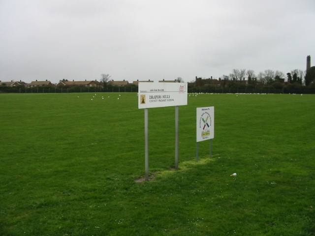 Drapers Mills Primary school playing fields