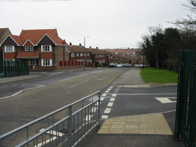 View along College Road
