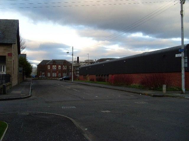 Cunard Street, Clydebank