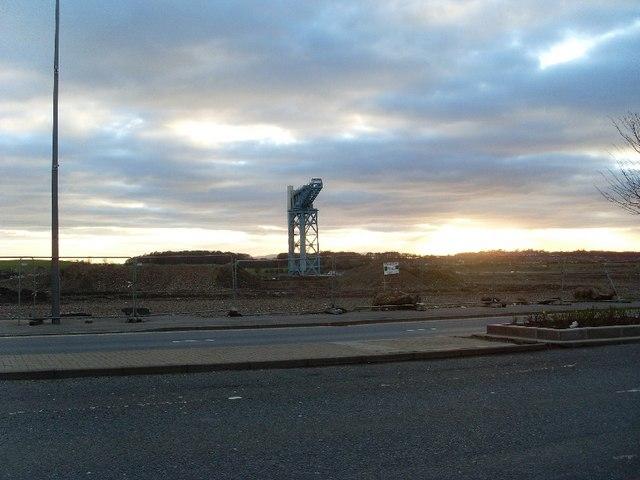 Titan Crane from Dumbarton Road